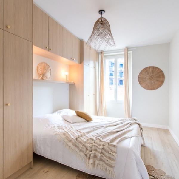 Rénovation et ameublement complet d'un appartement de 75m2 situé à la Libération