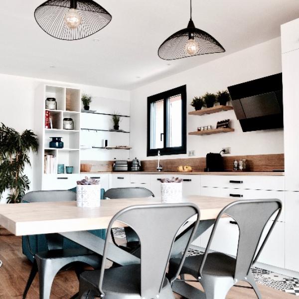 Rénovation d'un bas de maison provençale