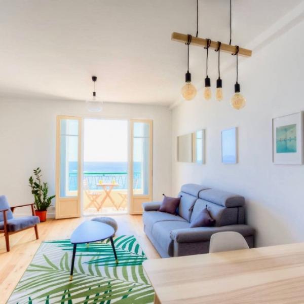 Rénovation d'un deux pièces de 70m2 situé à Nice en bord de mer