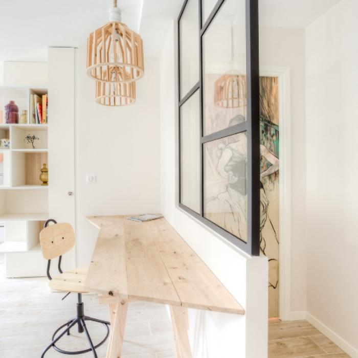 Rénovation complète d'un appartement de 2 pièces situé au Port de Nice