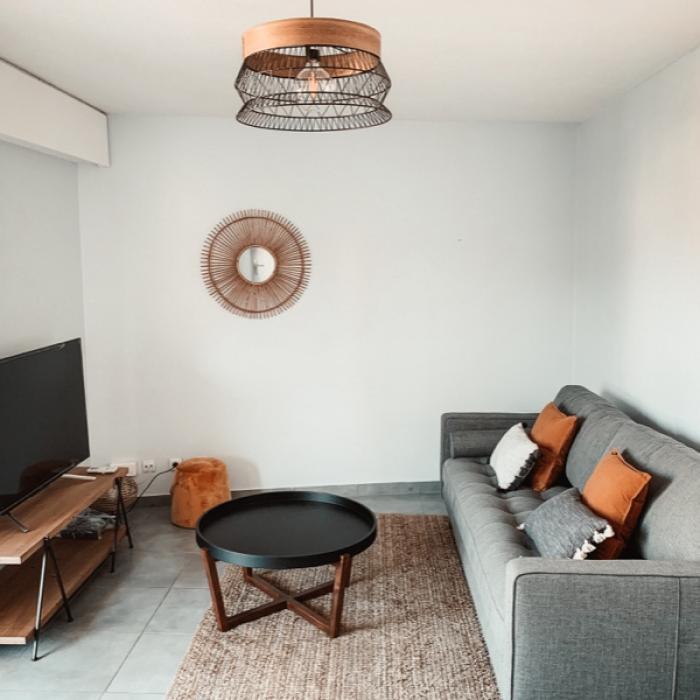 Ameublement d'un appartement de 3 pièces dédié à la location longue durée