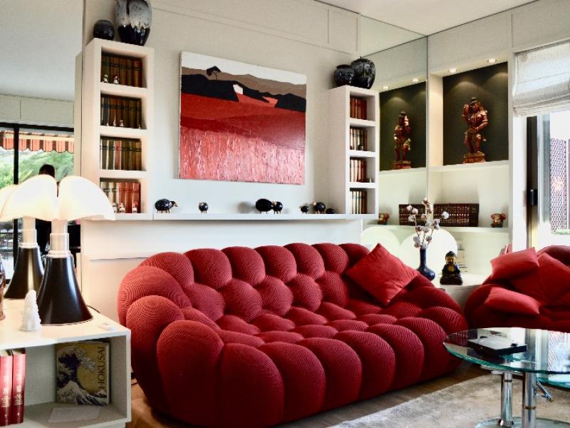 Modernisation des espaces de vie d'un appartement à Villefranche sur Mer